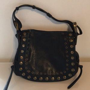 "Cute ""Steve Madden"" Blk Faux Leather Bag"